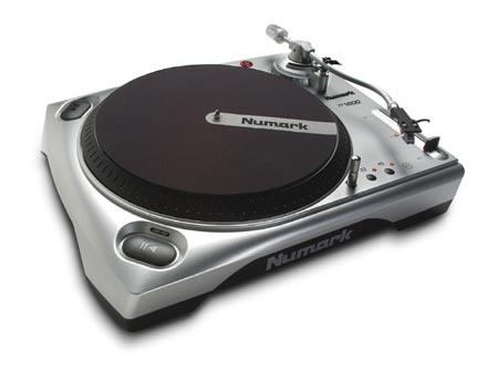 Numark TT1610 DJ-проигрыватель винил.дисков Direct drive,33-45 RPM,+-10...